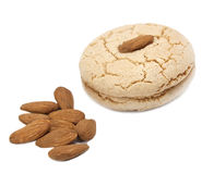 Almond cookie Stock Image