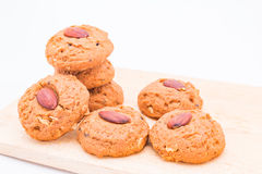 Almond cookie Stock Photography