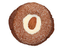 Almond cookie Stock Images