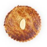 Almond Cookie on White Stock Photo