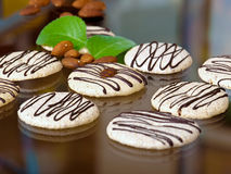 Almond cookies Royalty Free Stock Images