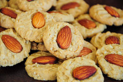 Almond cookies Royalty Free Stock Image
