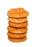Almond cookies Stock Photos