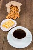 Almond cookies Stock Image