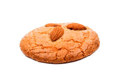 Almond cookies with nuts Royalty Free Stock Photo