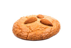 Almond cookies with nuts Stock Photography