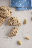 Almond cookies Stock Photography