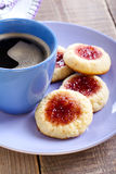 Almond cookies Stock Image