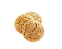 Almond cookies, traditional italian biscuit Royalty Free Stock Photos