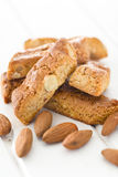 Almond cookies Stock Images