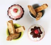 Almond Crispy Pie 1 Stock Photos