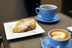 Almond croissant Royalty Free Stock Image