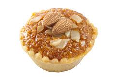 Almond cup cake Stock Images