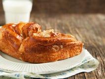 Almond Danish pastry Stock Image