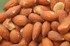 Almond detail Royalty Free Stock Photos