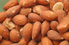 Almond detail Royalty Free Stock Photos