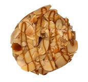 Almond Donut stock photography