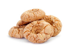Almond donuts typical of Andalusia, Spain Stock Photos