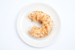Almond flake donut 2 Royalty Free Stock Photos