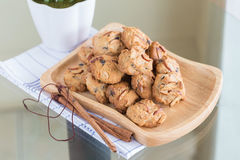 Almond flavored Cookies Stock Images