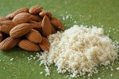 Almond Flour Royalty Free Stock Image