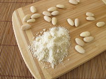 Almond flour Stock Image