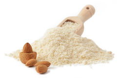 Almond flour Stock Images