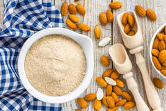 Almond flour Royalty Free Stock Photos