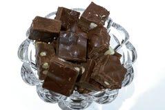 Almond fudge royalty free stock photo
