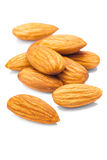 Almond isolated. On white background Stock Photo