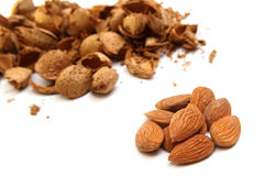 Almond kernels Stock Photo