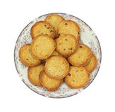 Almond lemon cookies Royalty Free Stock Images