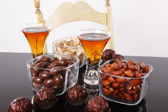 Almond liquor Royalty Free Stock Image
