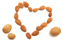 Almond love Royalty Free Stock Photo