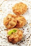 Almond macaroons Royalty Free Stock Images