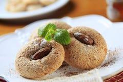 Almond macaroons Stock Image