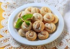Almond macaroons Royalty Free Stock Image