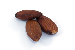 Almond macro Royalty Free Stock Photo