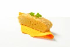 Almond Madeira Cake Royalty Free Stock Photos