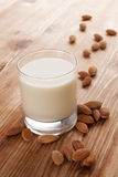 Almond milk. Stock Images
