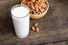 Almond milk Royalty Free Stock Photos