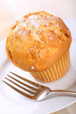 Almond muffin Stock Photo