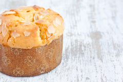 Almond muffin Royalty Free Stock Photos