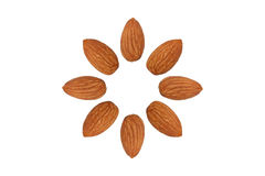 Free Almond Nut Fruit Organic Healthy Snack Vegan Isolated Stock Photos - 65769423