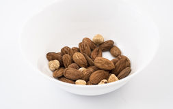 almond and nut Royalty Free Stock Images