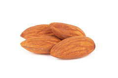 Almond nut Stock Image