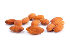 Almond nut seed Stock Photography