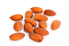 Almond nut seed Royalty Free Stock Images