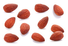 Almond nut set Stock Image