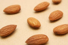 Almond Nuts Royalty Free Stock Image